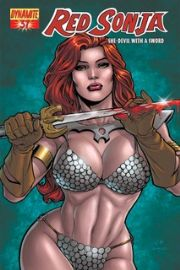 Red Sonja #37 Cover C Rafael 1:4 (2008) Dynamite Entertainment comic book
